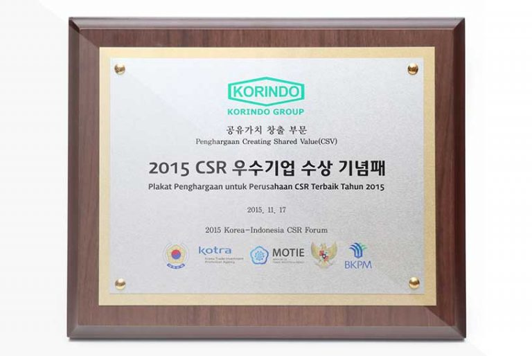 korindo-group-awards-2015-Best-CSR-Company-Award-from-Kotra-Motie-BKPM