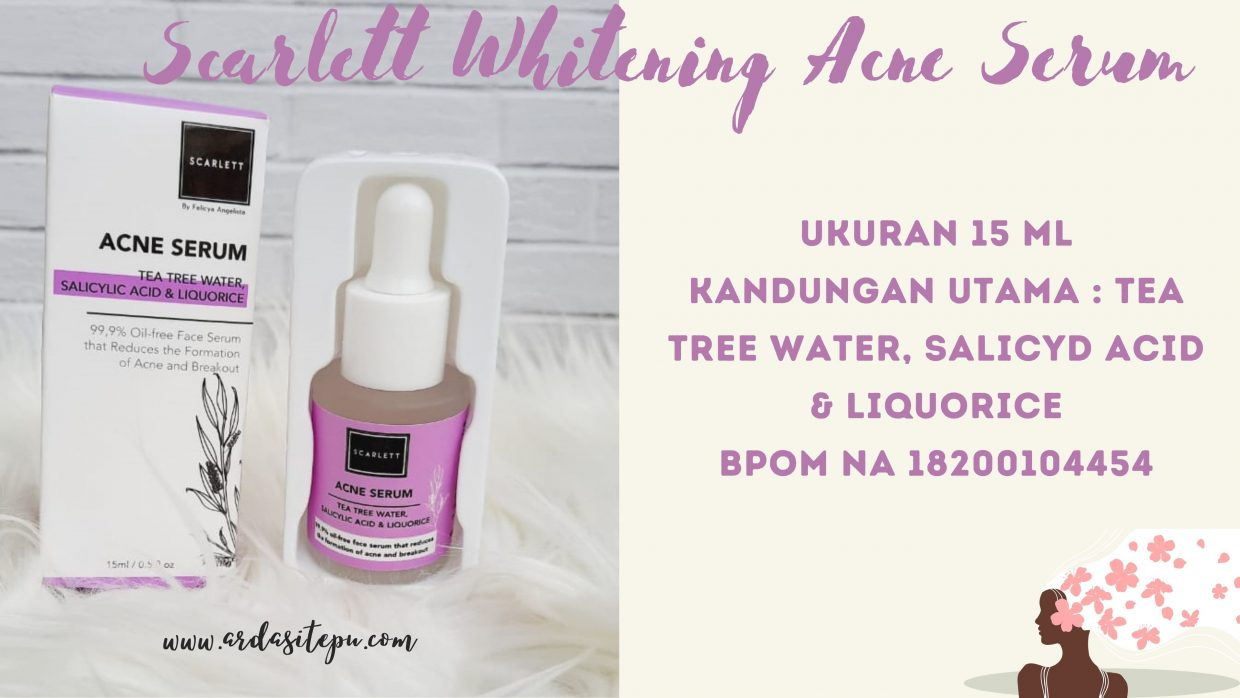 Scarlett Acne Serum