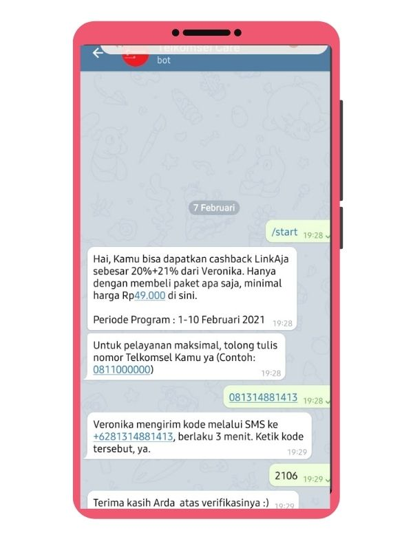 Tanya Veronika Telegram